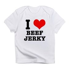 I Heart (Love) Beef Jerky Infant T-Shirt