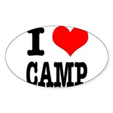 I Heart (Love) Camp Decal