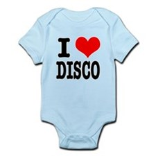 I Heart (Love) Disco Infant Bodysuit