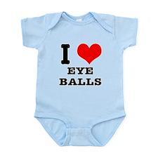I Heart (Love) Eyeballs Infant Bodysuit