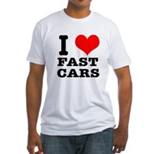 I Heart (Love) Fast Cars Shirt