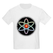 Midnight Rainbow Atom Kids T-Shirt