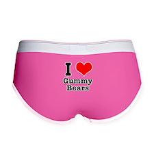 I Heart (Love) Gummy Bears Women's Boy Brief