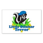 Little Stinker Trevor Sticker (Rectangle 10 pk)