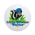 Little Stinker Walter Ornament (Round)