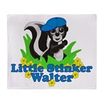 Little Stinker Walter Throw Blanket