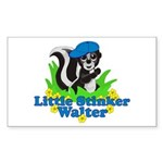 Little Stinker Walter Sticker (Rectangle 10 pk)