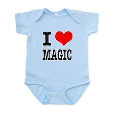 I Heart (Love) Magic Infant Bodysuit