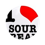 "I Heart (Love) Sour Cream 3.5"" Button (100 pa"