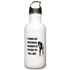 Think my personal trainer...m Water Bottle