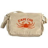Cape Cod Crab Messenger Bag