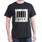 Loco Barcode Design Dark T-Shirt