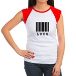 Loco Barcode Design Women's Cap Sleeve T-Shirt