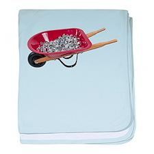 Wheelbarrow_Full_Of_Silver_St baby blanket