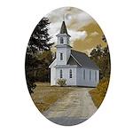 Riverside Presbyterian Church Ornament (Oval)