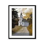 Riverside Presbyterian Church Framed Panel Print