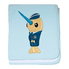 Airforce baby blanket