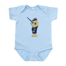 Airforce Infant Bodysuit
