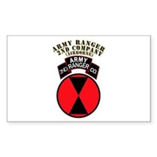 SOF - Army Ranger - 2nd Company Decal
