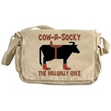 Cow-A-Socky Messenger Bag