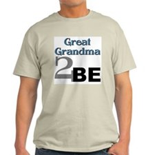 Grandma 2 Be Ash Grey T-Shirt