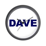 Dave Wall Clock