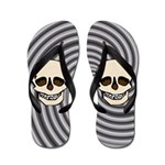 Skull Flip Flops