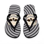 Skull Flip Flops