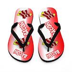 Bacon Strip Flip Flops