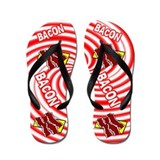 Fun Bacon Flip Flops