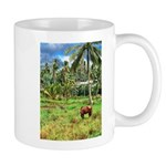 Horse in a Tropical Pasture Mug