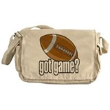 Got Game? Football Messenger Bag