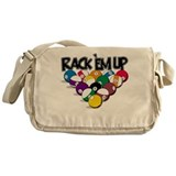 Rack Em Up Pool Messenger Bag