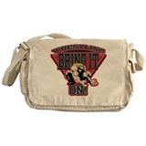 Wrestling Bring It On Messenger Bag