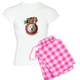 Christmas - Deck the Halls - Westies pajamas