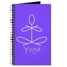 Yoga in Purple Journal