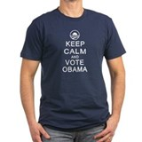 Keep Calm and Vote Obama T