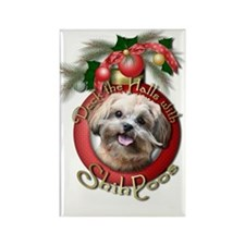 Christmas - Deck the Halls - ShihPoos Rectangle Ma