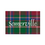 Tartan - Somerville Rectangle Magnet
