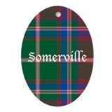 Tartan - Somerville Ornament (Oval)