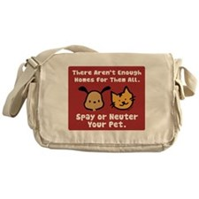 Too Few Homes Spay & Neuter Messenger Bag