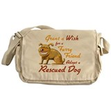 Grant Wish - Adopt Dog Messenger Bag