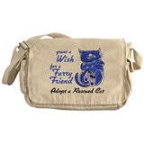 Grant Wish - Adopt Cat Messenger Bag