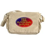 Yes Dog Kids Messenger Bag