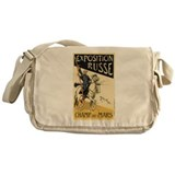 Exposition Russe 1895 Poster Messenger Bag