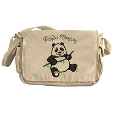 Panda Monium (pandemonium) Messenger Bag