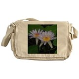 Beautiful Water Lily Messenger Bag