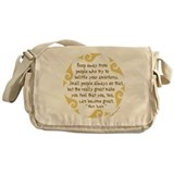 Keep Away Messenger Bag