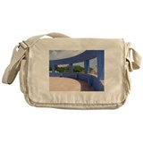 The Blue Wall Messenger Bag