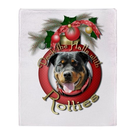 Christmas - Deck the Halls - Rotties Stadium Blan